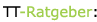 Tischtennis Ratgeber Logo