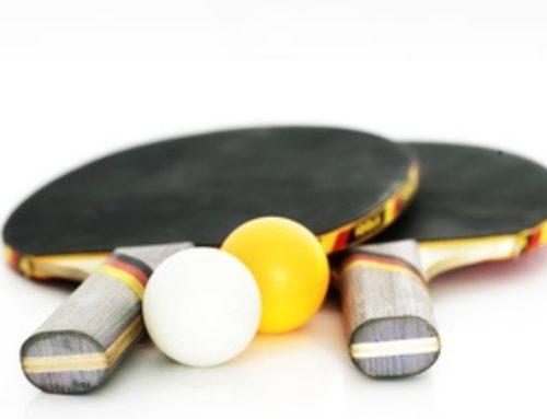 Tischtennisbelag kleben